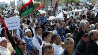 Masu zanga zanga na Libya