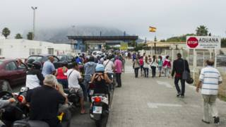 Граница с Гибралтаром