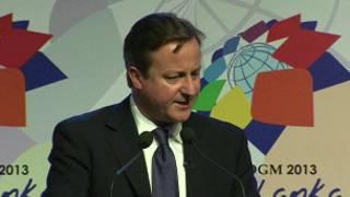 Pira Ministan Birtaniya David Cameron a Sri Lanka