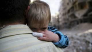 کودک سوری (عکس از آرشیو)
