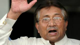 Former president Musharraf faces a charge of treason