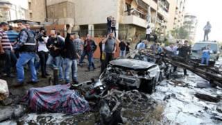 Взрыв у посольства Ирана в Ливане