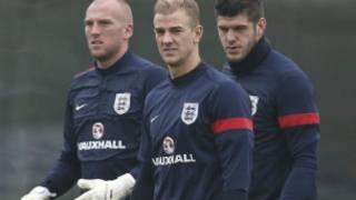 回到英格蘭訓練場上的哈特依然犀利
