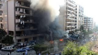 Explosão em Beirute (AFP)