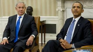 اوباما و نتانیاهو در کاخ سفید دیدار کردند