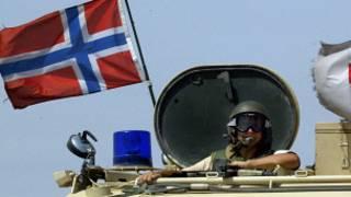 Tanque noruego en Irak, 2004