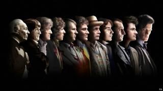 Todos los doctores de Doctor Who