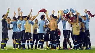 'Yan wasan Uruguay