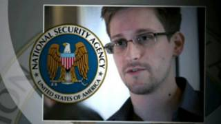Snowden, USA CIA analyst in of his photos padged with NSA logo.