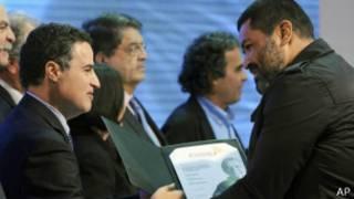 Entrega de premios García Márquez