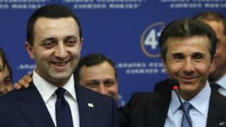 Новый премьер Грузии Ираклий Гарибашвили