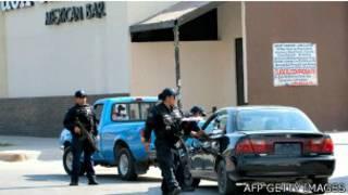 Policiais mexicanos. Foto: Jesús Alcazar / AFP - Getty Images