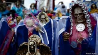 Culto a la Santa Muerte. Foto: Keith Morris
