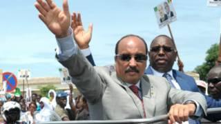 Mohamed Ould Abdel Aziz yizeye intsinzi