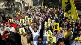 تظاهرات طرفداران محمد مرسی