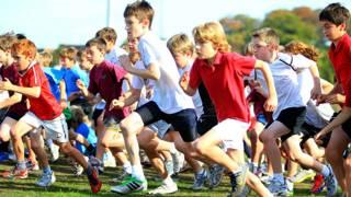ग्लोबल फ़िटनेस बच्चे माता पिता दौड़