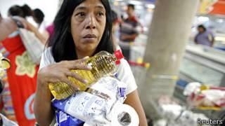 Escasez de productos en Venezuela