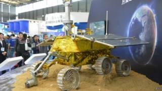 Model kenderaan ruang angkasa Cina