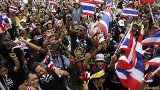 Người biểu tình Thái Lan