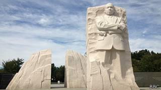 Une vue du  mémorial Martin Luther King