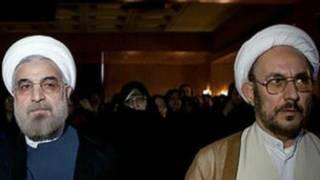 علی یونسی با حسن روحانی