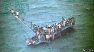 Naufragio barco haitiano en Bahamas