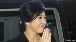 Yingluck Shinawatra, primera ministra de Tailandia