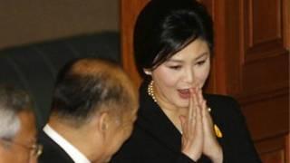 ینگلاک شیناوترا، نخست وزیر تایلند