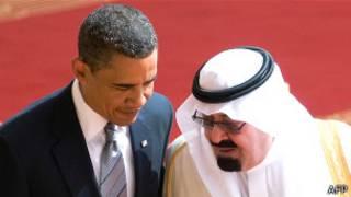 عبدالله و اوباما