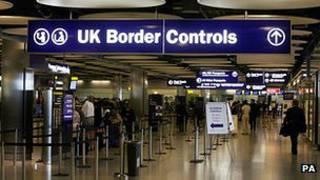 英國機場海關