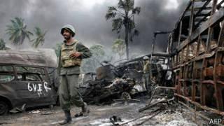 Final de la guerra civil en Sri Lanka, 2009