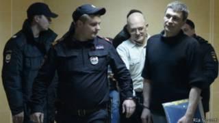Сергей Кривов на суде