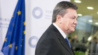 Президент Янукович