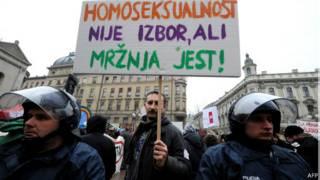 مسيرة لدعم حقوق المثليين في زغرب