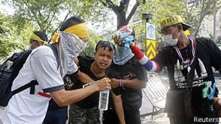 Imyigaragambyo irwanya leta muri Thailande