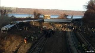аварія потягу в Нью-Йорку