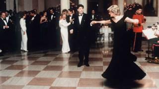 戴安娜王妃1985年在白宮舞會上