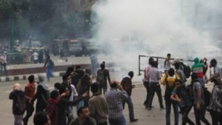 طلاب جماعة الإخوان يتظاهرون في الجامعات