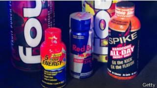 مشروبات الطاقة التي تحوي الكافيين