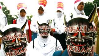 Demo Hari AIDS, Surabaya