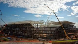 Стадион в Куябе