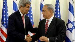 Kerry e Netanyahu (AFP)