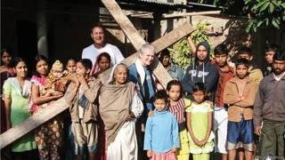 Lidsay Hamon na região de Assam, Índia | Foto: Arquivo pessoal