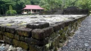 हिंदू मंदिर के ध्वंसावशेष, मलेशिया