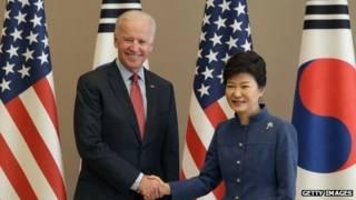 Ông Biden và bà Park