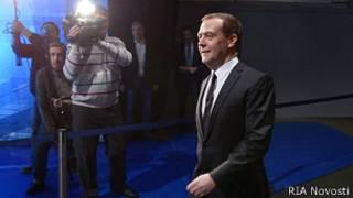 """Дмитрий Медведев перед """"большим"""" интервью"""