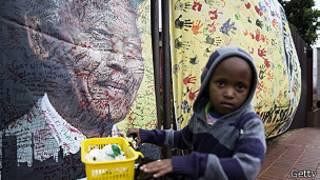 طفل جنوب افريقي