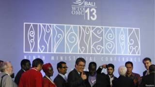 Reunião da OMC em Bali (Reuters)