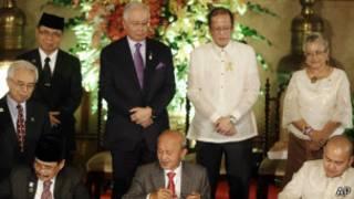 الفلبين (صورة من الأرشيف بشأن مفاوضات سابقة)