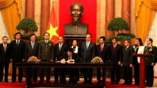 Lễ ký công bố Hiến pháp Việt Nam